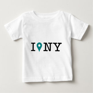 I'm in New York - blue pushpin Tshirts