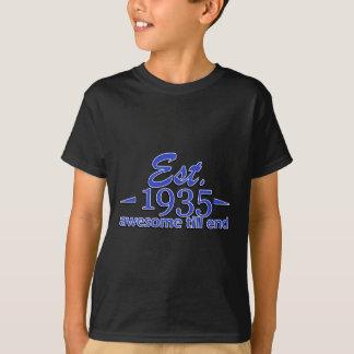 Im Jahre 1935 hergestellt T-Shirt