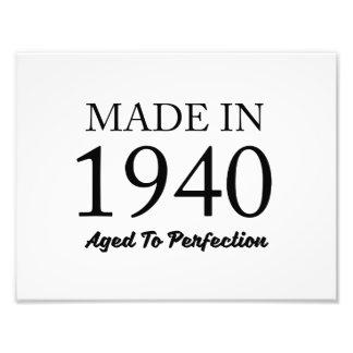 Im Jahre 1940 gemacht Photodrucke