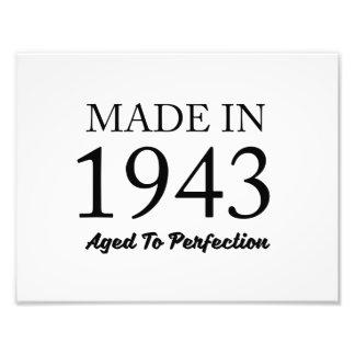 Im Jahre 1943 gemacht Photo Druck