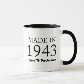 Im Jahre 1943 gemacht Tasse