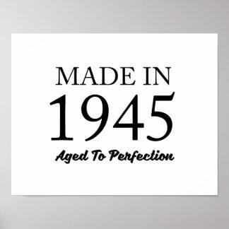 Im Jahre 1945 gemacht Poster