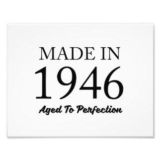 Im Jahre 1946 gemacht Kunst Foto
