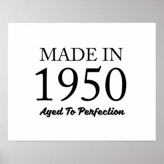 Im Jahre 1950 gemacht Poster
