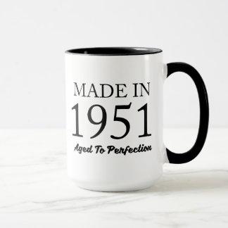 Im Jahre 1951 gemacht Tasse