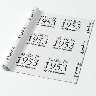 Im Jahre 1953 gemacht Geschenkpapier