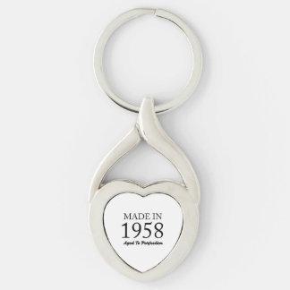 Im Jahre 1958 gemacht Schlüsselanhänger