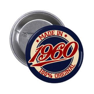 Im Jahre 1960 gemacht Runder Button 5,1 Cm