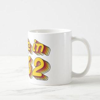 Im Jahre 1962 gemacht (Yellow&Red) Kaffeetasse