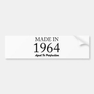 Im Jahre 1964 gemacht Autoaufkleber
