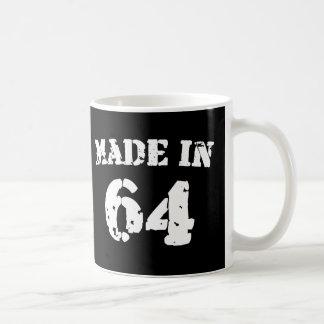 Im Jahre 1964 gemacht Kaffeetasse