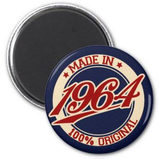 Im Jahre 1964 gemacht Runder Magnet 5,7 Cm