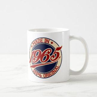 Im Jahre 1965 gemacht Kaffeetasse