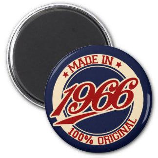 Im Jahre 1966 gemacht Runder Magnet 5,7 Cm