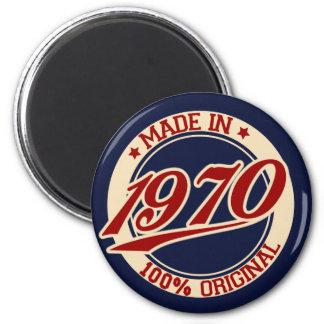 Im Jahre 1970 gemacht Runder Magnet 5,7 Cm