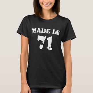 Im Jahre 1971 gemacht T-Shirt
