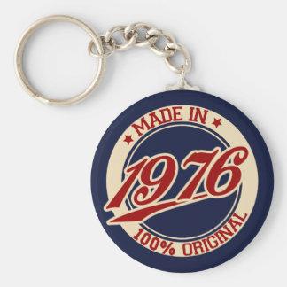 Im Jahre 1976 gemacht Standard Runder Schlüsselanhänger