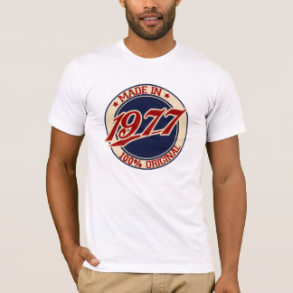 Im Jahre 1977 gemacht T-Shirt