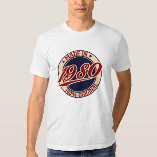 Im Jahre 1980 gemacht T Shirt