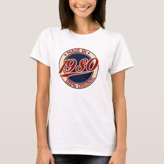 Im Jahre 1980 gemacht T-Shirt