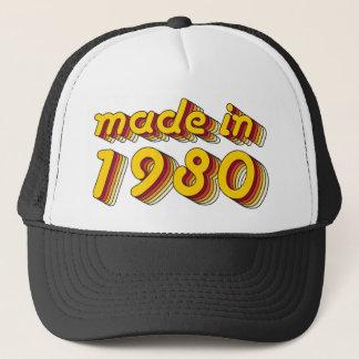 Im Jahre 1980 gemacht (Yellow&Red) Truckerkappe