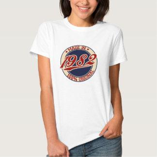 Im Jahre 1982 gemacht Hemden