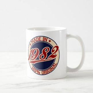 Im Jahre 1982 gemacht Kaffeetasse