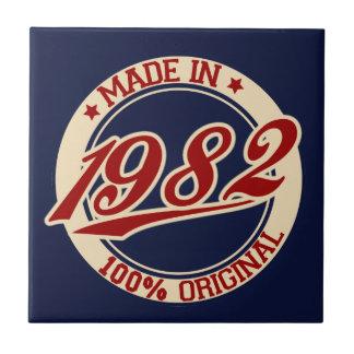 Im Jahre 1982 gemacht Keramikfliese