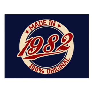 Im Jahre 1982 gemacht Postkarte