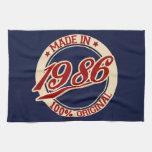 Im Jahre 1986 gemacht Handtuch