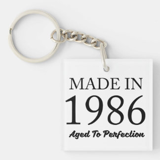 Im Jahre 1986 gemacht Schlüsselanhänger