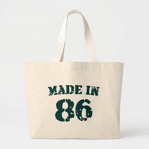 Im Jahre 1986 gemacht Taschen