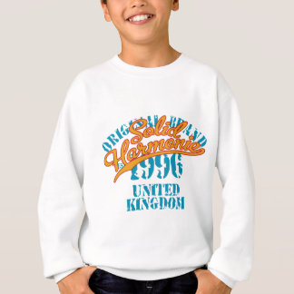 Im Jahre 1996 hergestellt Sweatshirt
