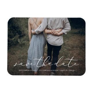 Im Liebe-Save the Date Magneten Magnet