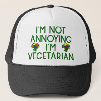 I'm Not Annoying I'm Vegetarian Brokkoli Broccoli Truckerkappe