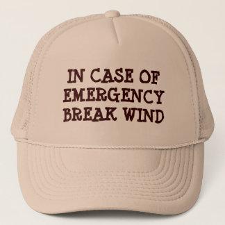 Im Notfall Bruch-Wind Truckerkappe