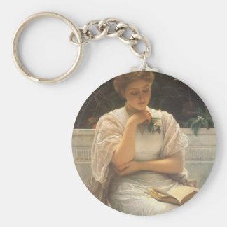 Im Orangery durch Charles Edward Perugini Schlüsselanhänger
