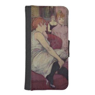 Im Salon am Rue-DES Moulins, 1894 I Phone 5 Portmonee