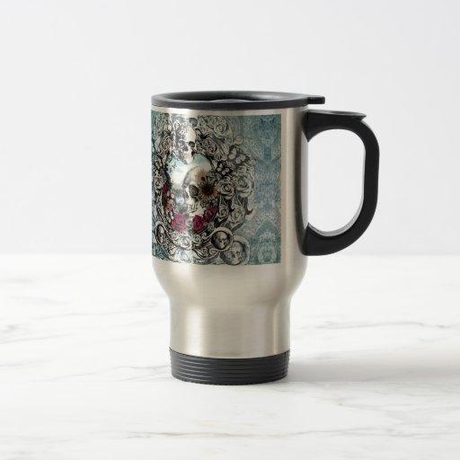 Im Spiegellandschaftsschädel Kaffee Haferl