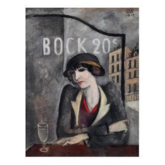Im Stadtrand von Paris Vintag Postkarte