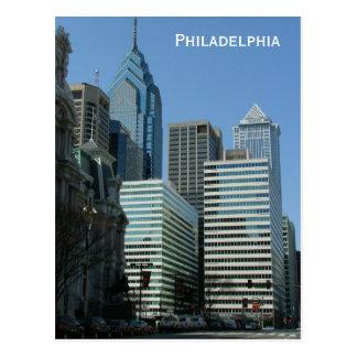 Im Stadtzentrum gelegen Postkarte