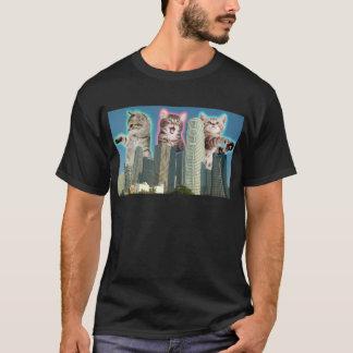 Im Stadtzentrum gelegene Katzen T-Shirt