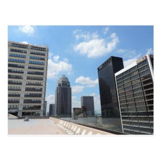 Im Stadtzentrum gelegene Louisville-Wolkenkratzer Postkarte