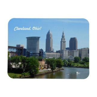 Im Stadtzentrum gelegener Magnet Clevelands, Fluss