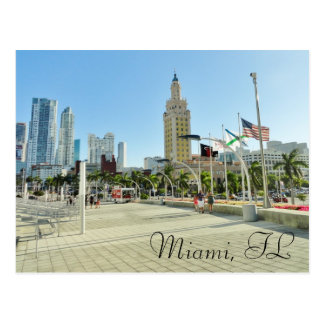 Im Stadtzentrum gelegener Miami- Freiheits-Turm Postkarte