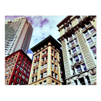 Im Stadtzentrum gelegenes Boston Postkarte
