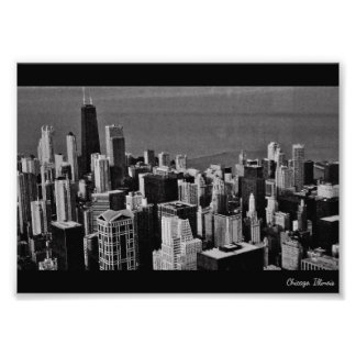Im Stadtzentrum gelegenes Chicago Fotodruck