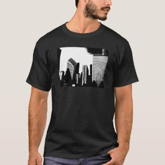 Im Stadtzentrum gelegenes Chicago T-Shirt