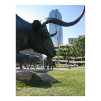 Im Stadtzentrum gelegenes Dallas, Texas Postkarte