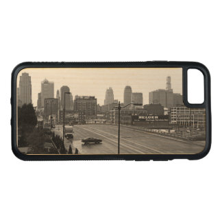 Im Stadtzentrum gelegenes Kansas City auf Carved iPhone 8/7 Hülle